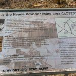 Death Valley-Chloride City marker