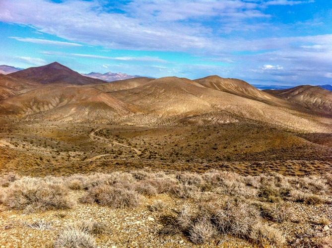 Death Valley Chloride trail