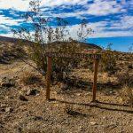 Death Valley-Chloride Cliffs road marker