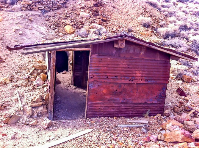 Death Valley National Park-Remains of Chloride City Mine