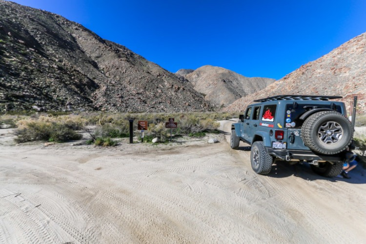 Anza Borrego State Park-Sheep Canyon campground