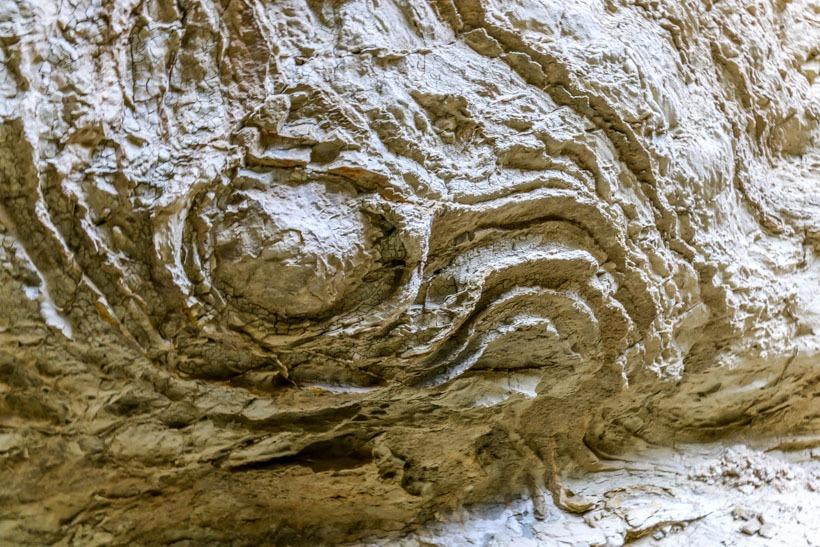 Mud Cave Wall