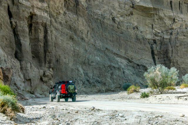 Arroyo Tapiado canyon