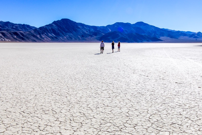Dry lake bed-The Playa Death Valley