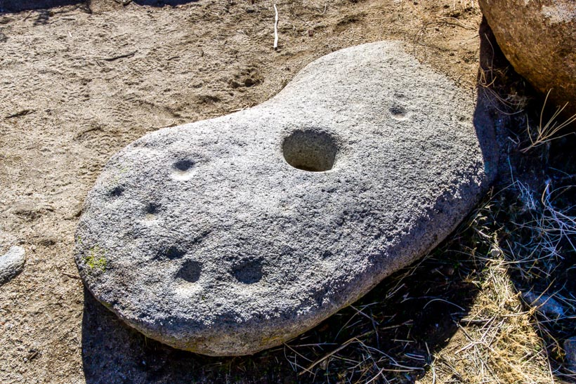 Kumeyaay Indian Grinding stone