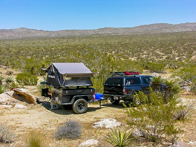 Anza Borrego-Little Blair Valley camping