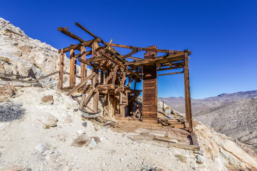 Lost Burro Mine equipment