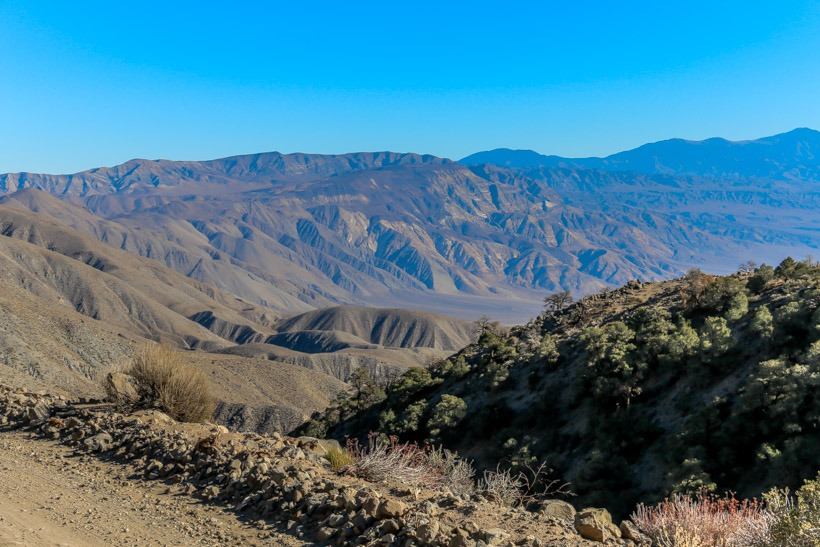 View from Saline Valley Road