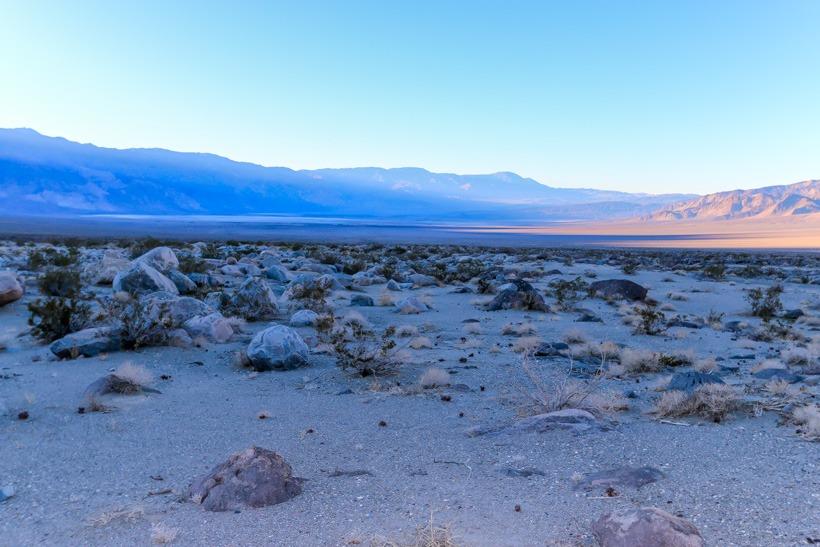 Death Valley-Saline Valley sunset