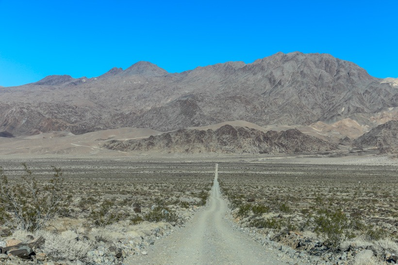 Junction of Lippencott Road and Saline Valley Road