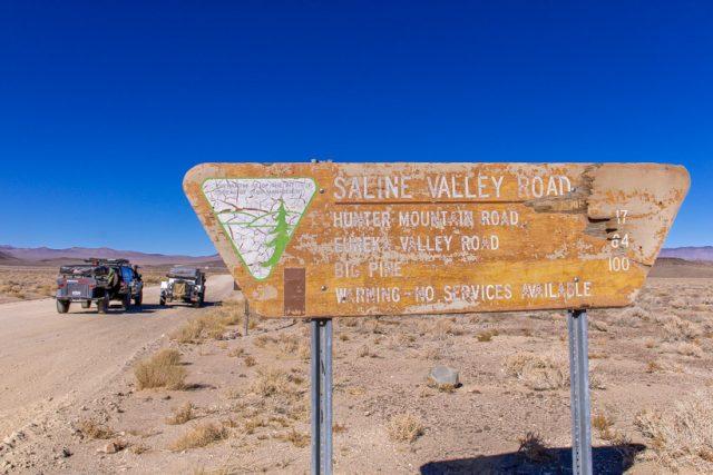 Death Valley Trail Head Saline Valley South