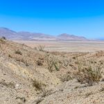 View north from Goat Trail in Anza Borrego