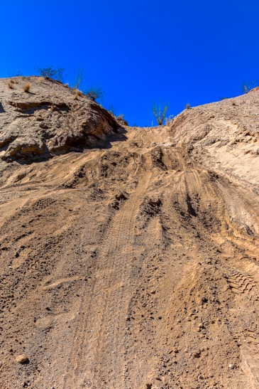 Anza Borrego Looking up Slot drop