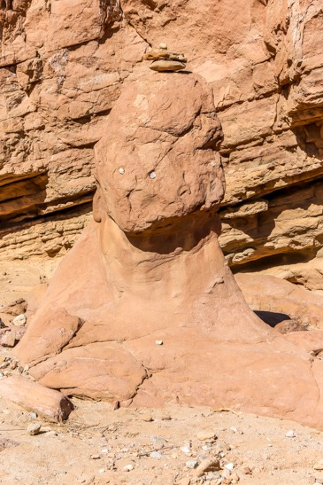 Face on Slot trail