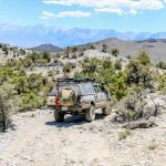 Eastern Sierras Traveling Pappoose Flats Trail