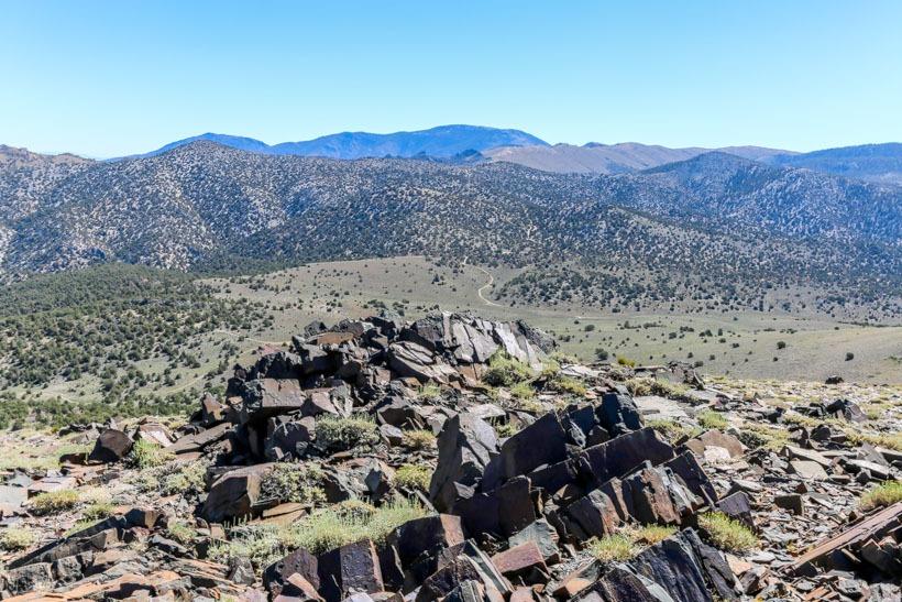 Eastern Sierras Mazourka Peak