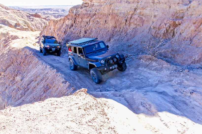 Calcite Trail Anza Borrego