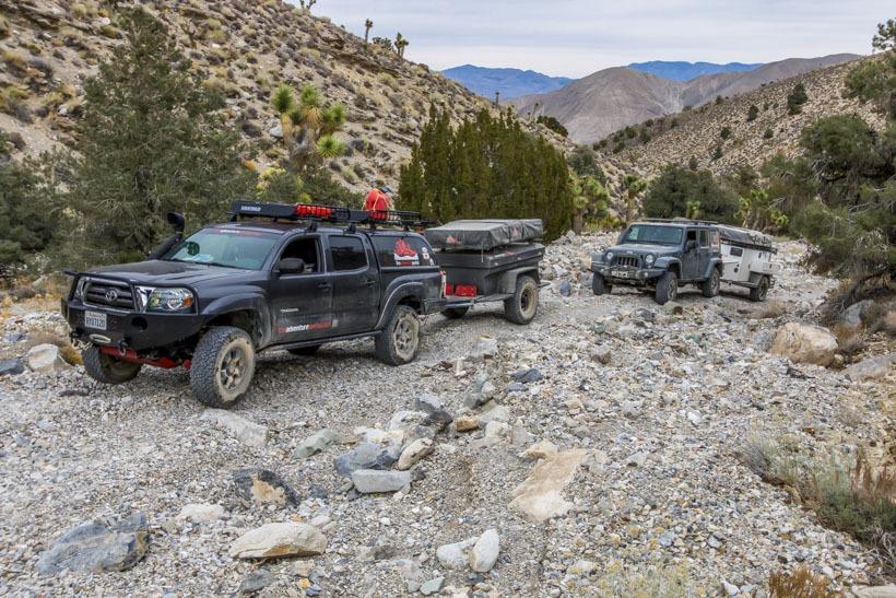 Death Valley Cerro Gordo Road Ascending east side