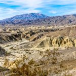 View from Wind Caves Anza Borrego State Park
