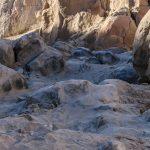 Anza Borrego-End trail Sandstone canyon