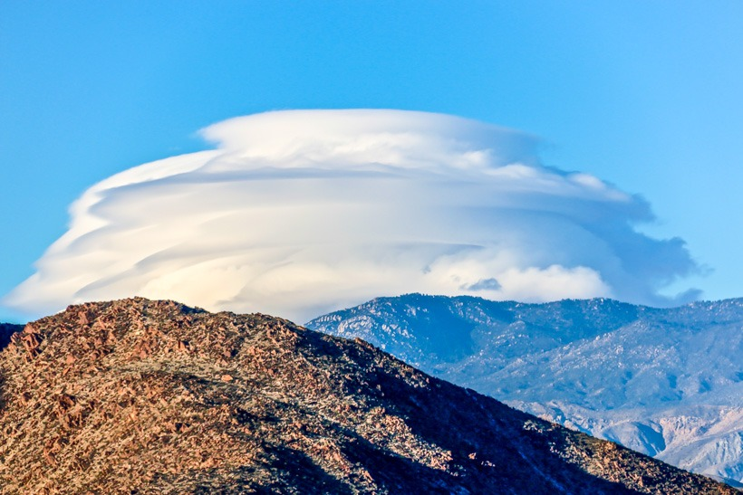 Anza Borrego-Thunder cloud