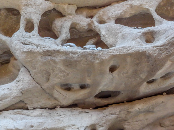 Anza Borrego Sandstone Canyon-Fish Creek geological  formations