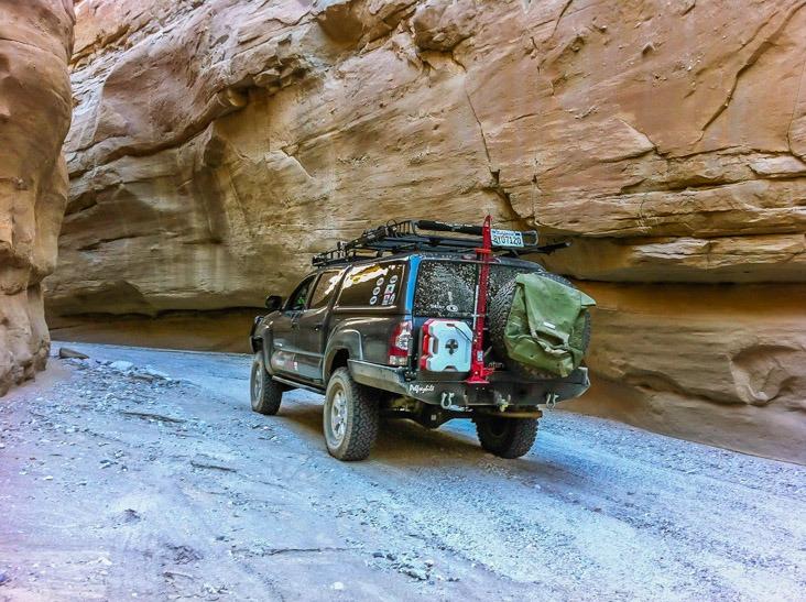 Anza Borrego-Sandstone Canyon