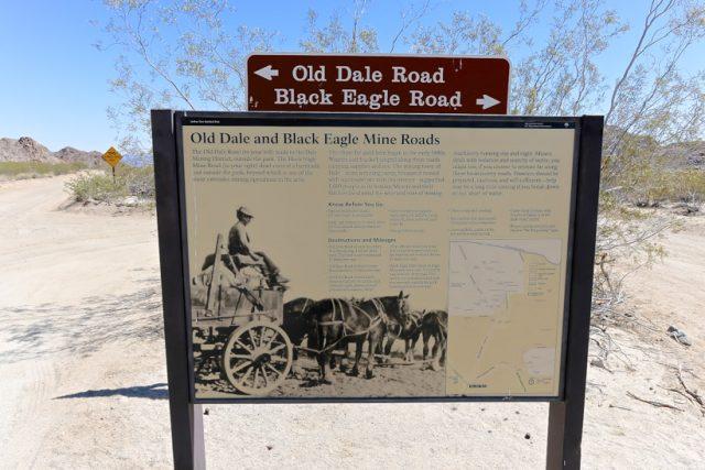 Trail head Black Eagle Mine