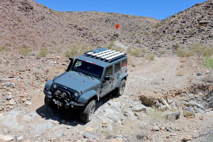 Moderate terrain Black Eagle Mine Trail-Joshua Tree National Park