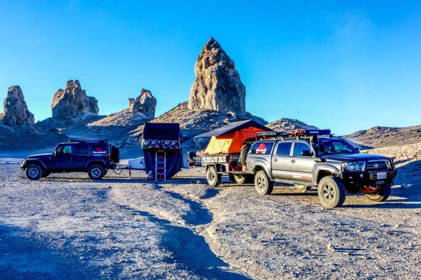 The Adventure Portal's Basecamp Trona Pinnacles