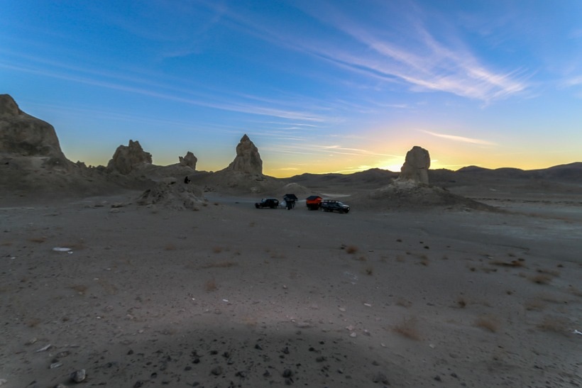 Camping at Trona Pinnacles