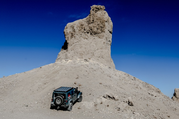 Exploring Trona Pinnacles