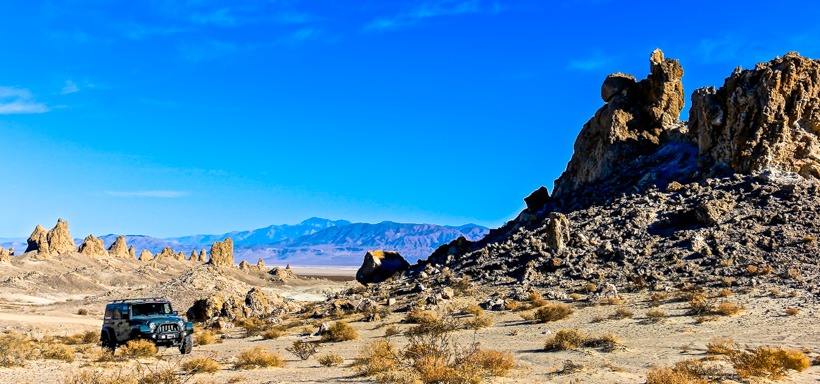 Cruising Trona Pinnacles
