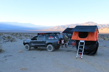 Camping Death Valley