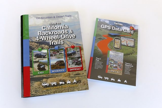 Funtreks guidebooks and GPS data card -the adventure Portal