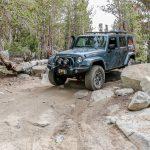 Heading down Wheeler Ridge trail