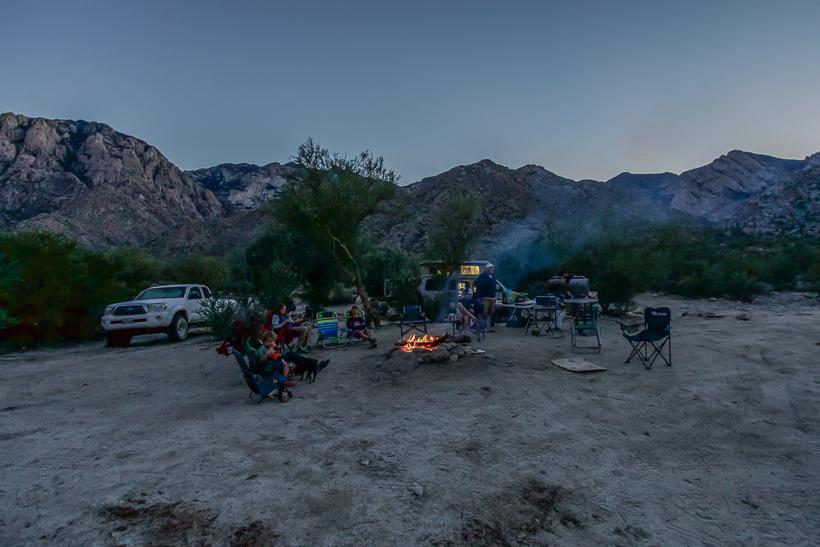 3rd night fire pit