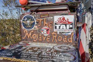 Mojave road:TAP mailbox