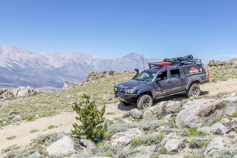 10,500ft Coyote Creek Trail sierra