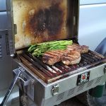 Solaire infrared grill.