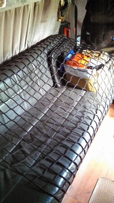 Loadtamer inside gear net