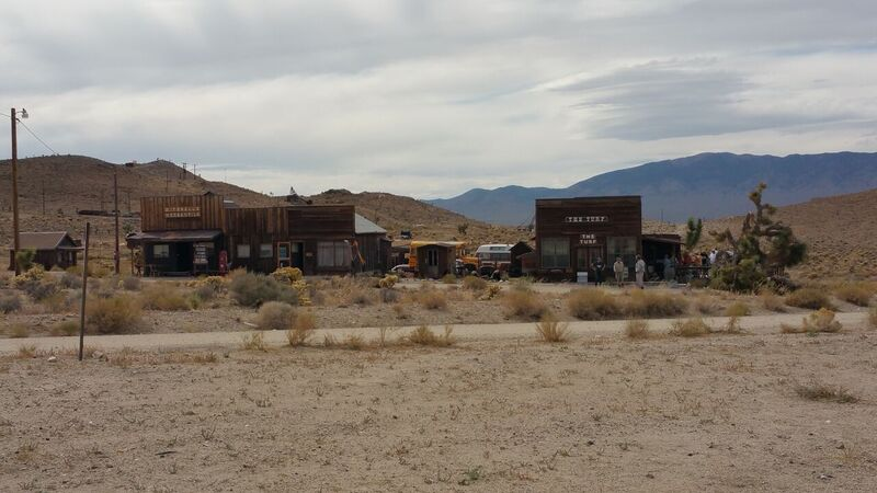 The town of Gold Point NV.