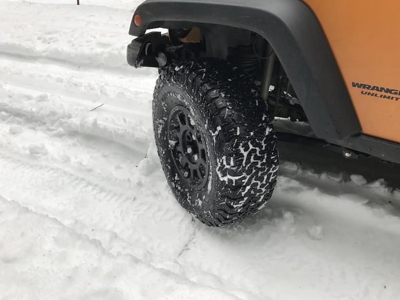 snow crawling