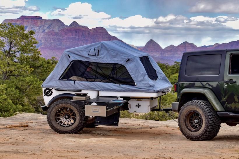 tentrax off road trailer